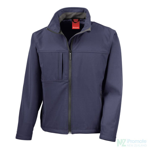 Classic Softshell Jacket Navy Jackets