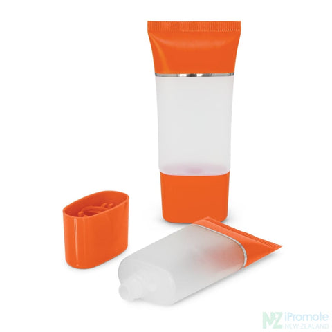 Colourful Gel Hand Sanitiser - 30Ml Tube Orange Sanitisers