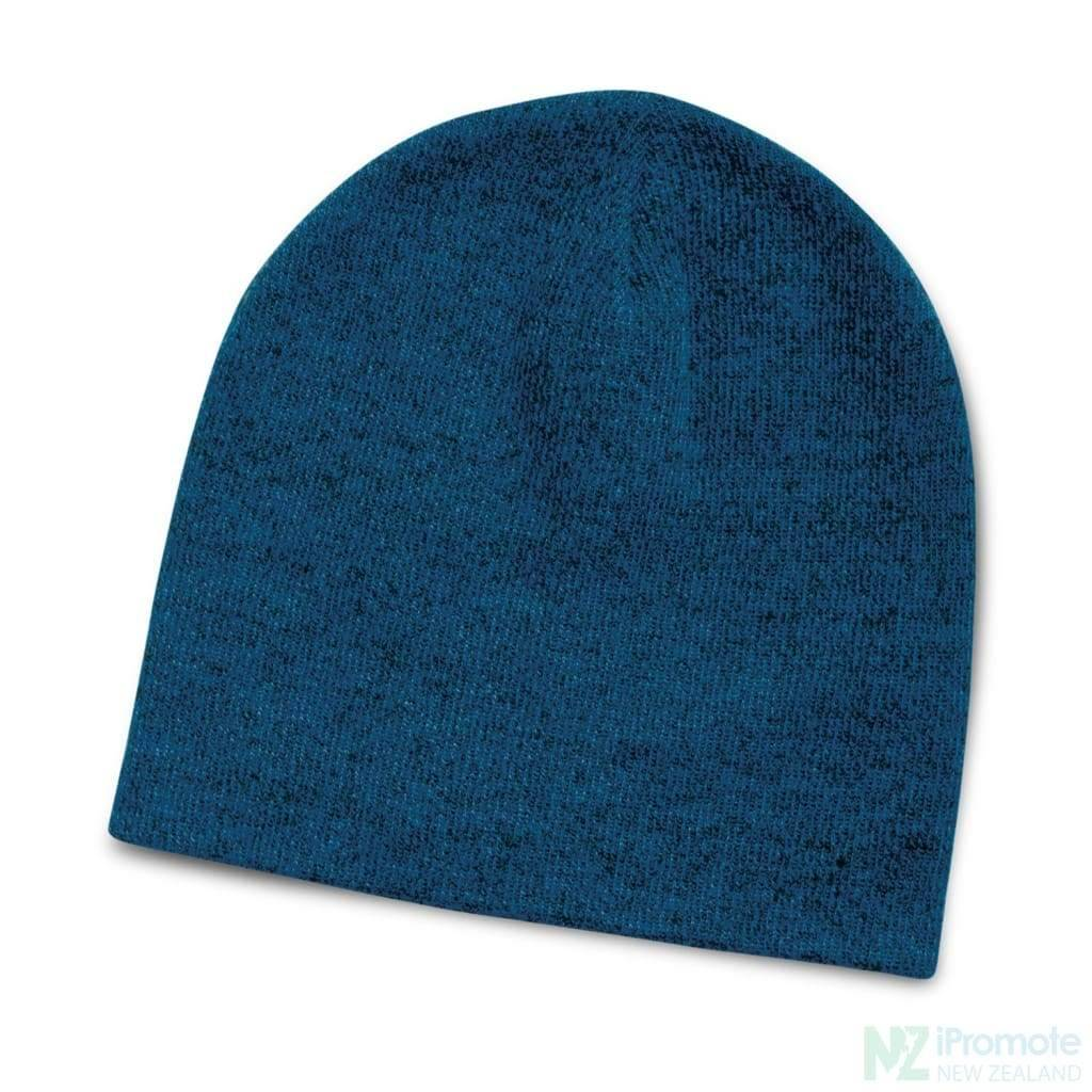 Commando Heather Knit Beanie Blue Beanies