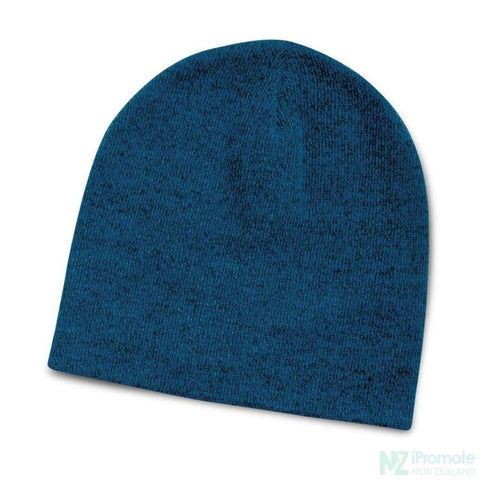 Image of Commando Heather Knit Beanie Blue Beanies