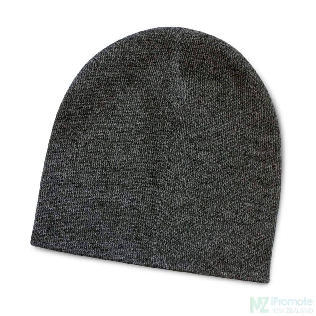 Commando Heather Knit Beanie Charcoal Beanies