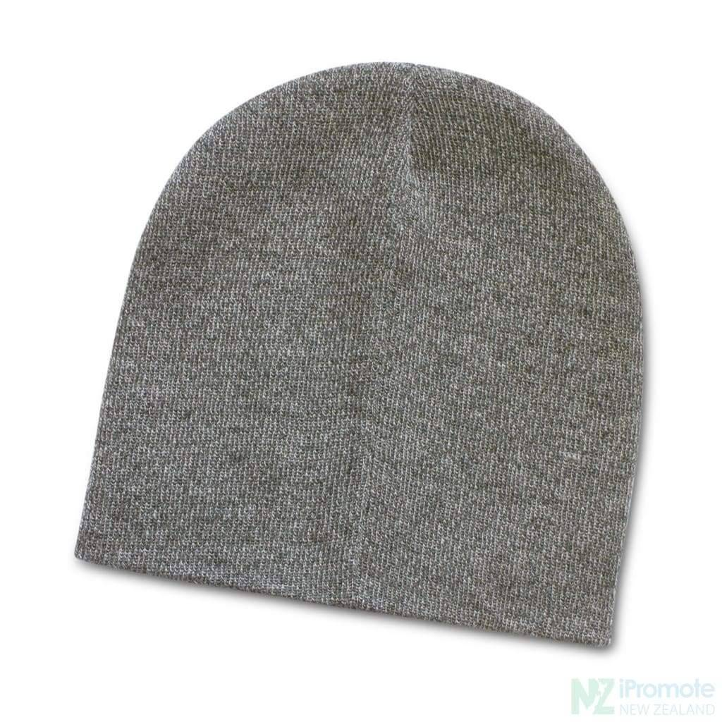 Commando Heather Knit Beanie Grey Melange Beanies