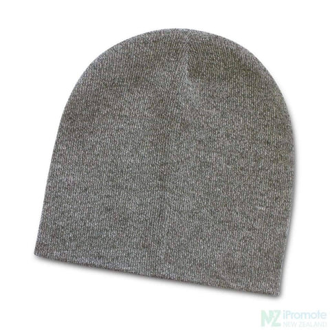 Image of Commando Heather Knit Beanie Grey Melange Beanies