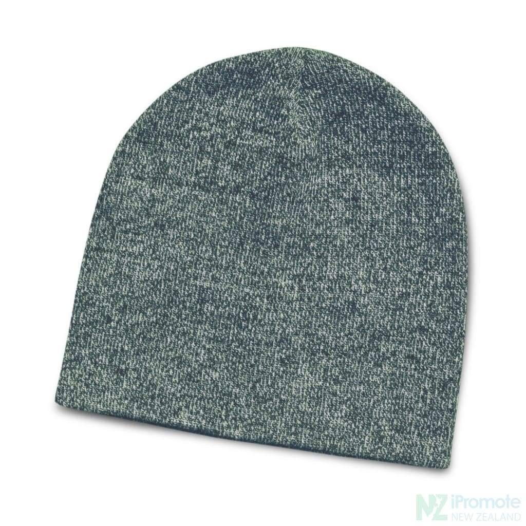 Commando Heather Knit Beanie Navy Beanies