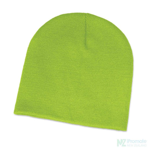 Image of Commando Skull Beanie Bright Green Beanies