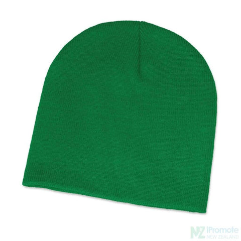 Commando Skull Beanie Dark Green Beanies