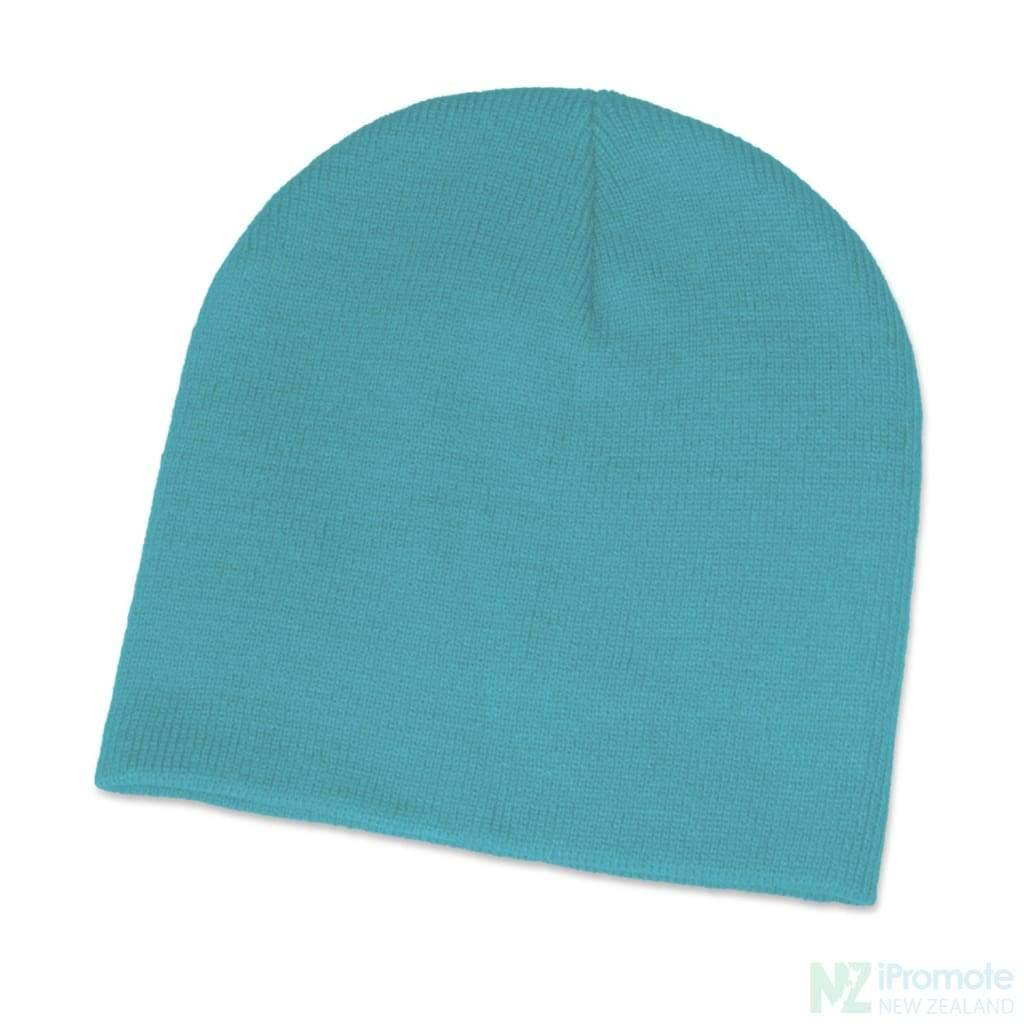 Commando Skull Beanie Light Blue Beanies