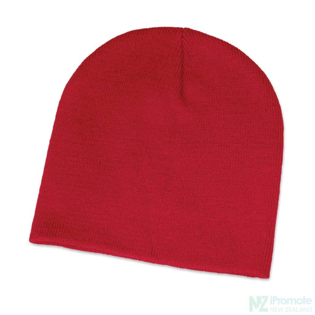 Commando Skull Beanie Red Beanies