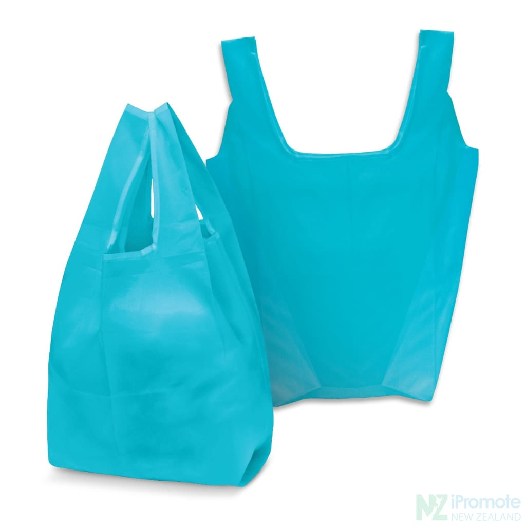 Compact Shopping Bag Bright Blue Tote Bags