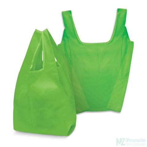 Image of Compact Shopping Bag Bright Green Tote Bags