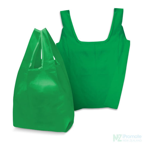 Image of Compact Shopping Bag Dark Green Tote Bags
