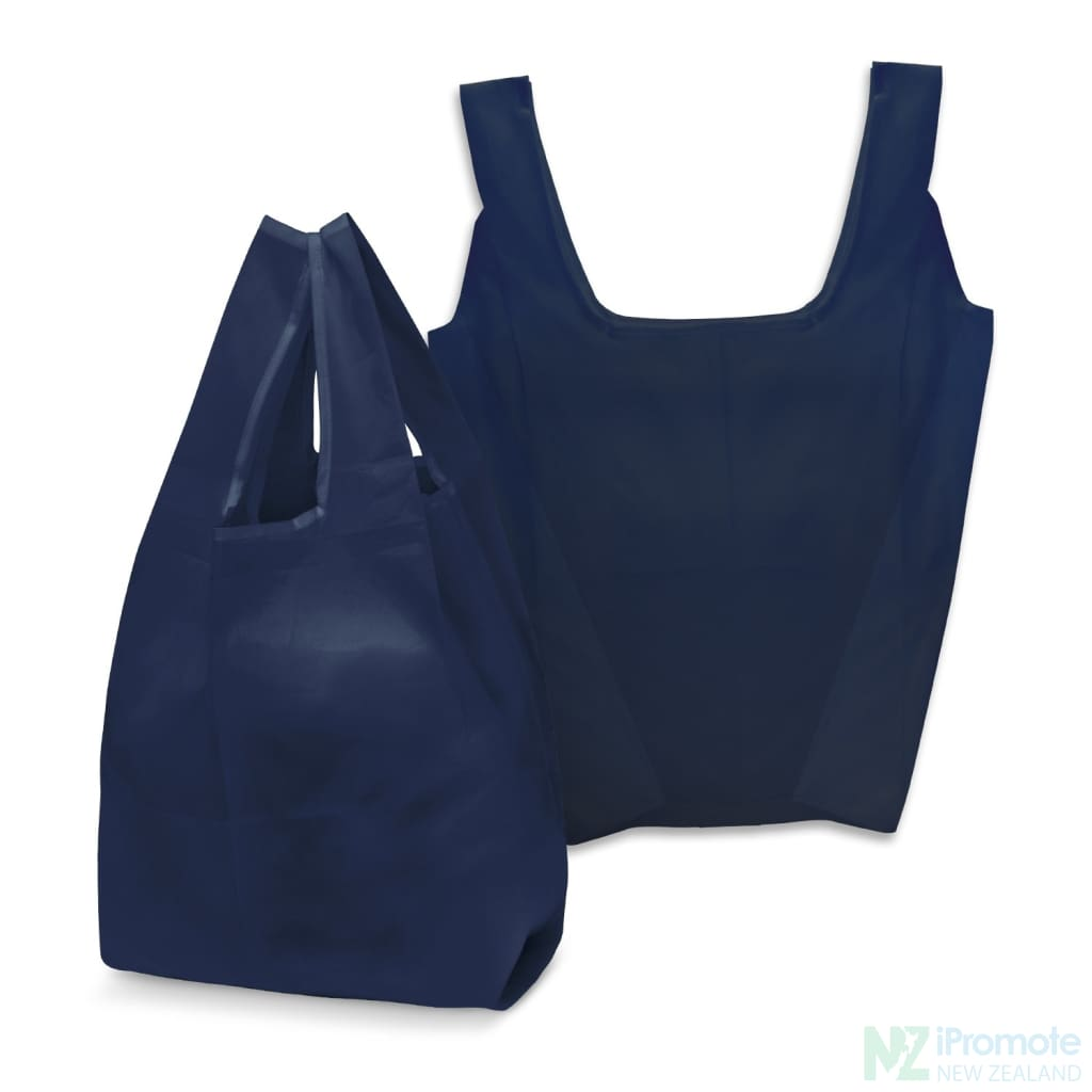 Compact Shopping Bag Navy Tote Bags