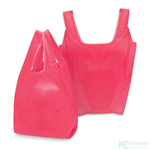 Image of Compact Shopping Bag Pink Tote Bags