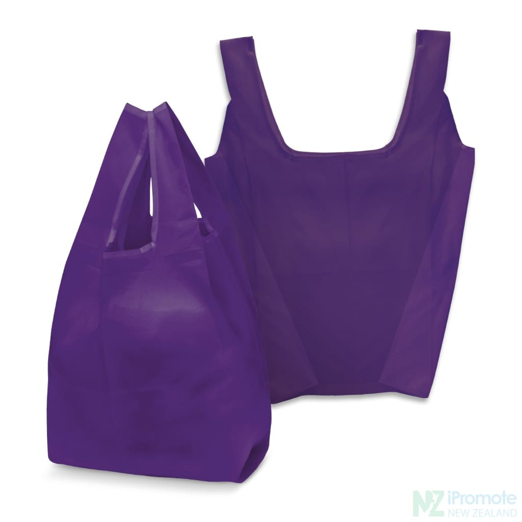 Compact Shopping Bag Purple Tote Bags