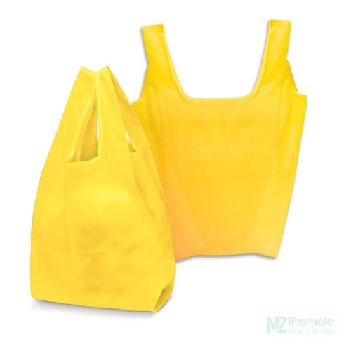 Image of Compact Shopping Bag Yellow Tote Bags