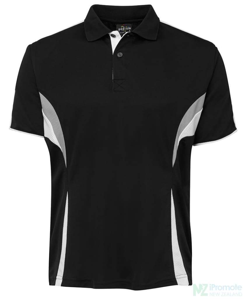 Cool Polo Black/white/grey Shirts