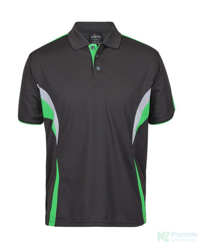 Image of Cool Polo Gunmetal/pea Shirts