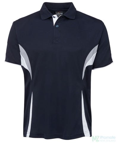 Image of Cool Polo Navy/white/grey Shirts