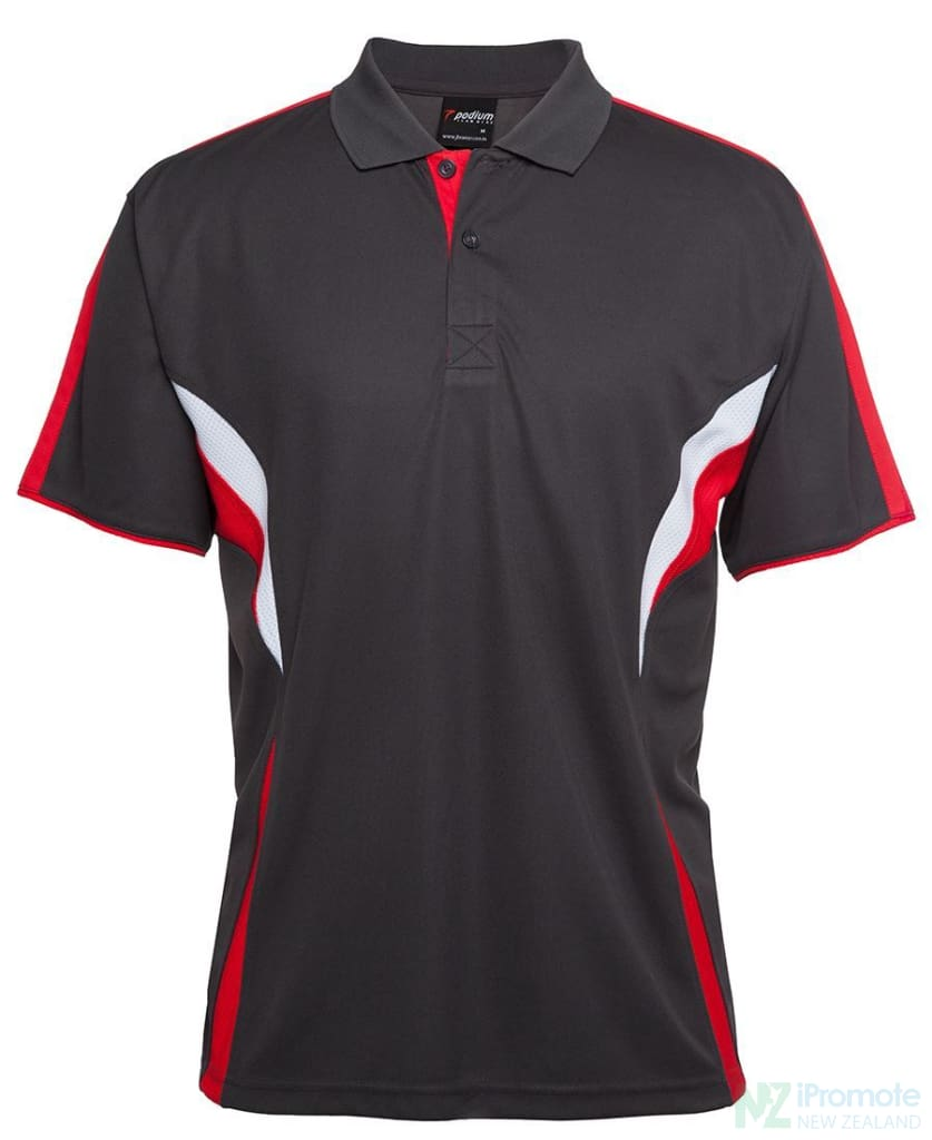 Cool Polo Red/white/grey Shirts