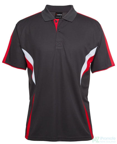Image of Cool Polo Red/white/grey Shirts