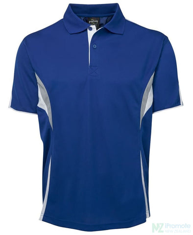 Image of Cool Polo Royal/white/grey Shirts