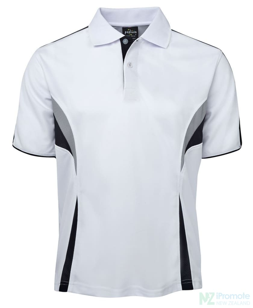 Cool Polo White/navy/grey Shirts