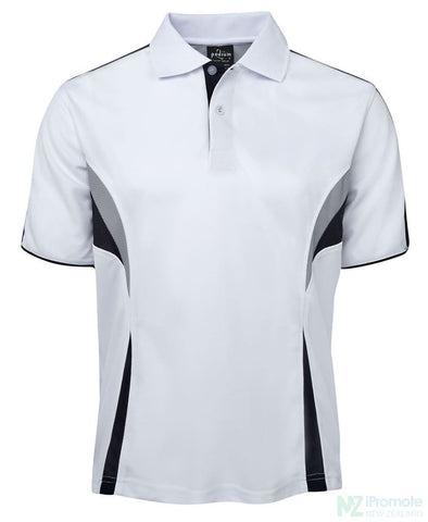 Image of Cool Polo White/navy/grey Shirts