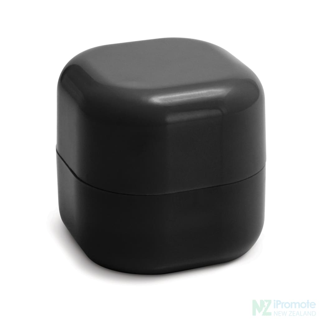 Cube Shaped Lip Balm In Assorted Colours Black