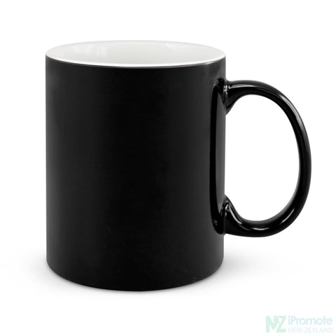 Image of D Handle Coffee Mug Black / 48 Ceramic Coffee