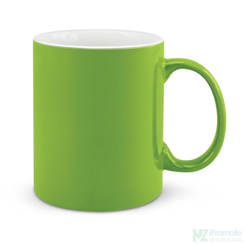 D Handle Coffee Mug Bright Green / 48 Ceramic Coffee
