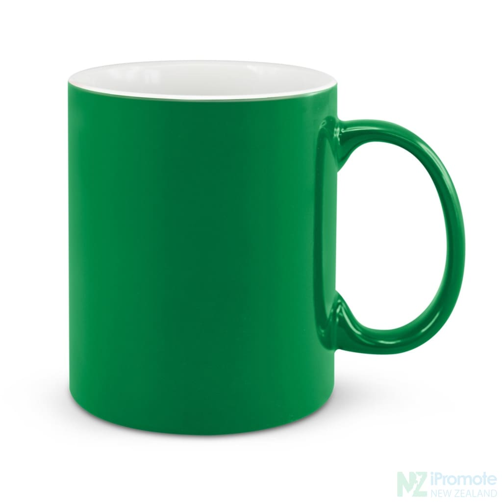 D Handle Coffee Mug Dark Green / 48 Ceramic Coffee