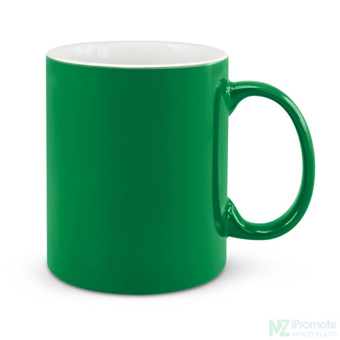 Image of D Handle Coffee Mug Dark Green / 48 Ceramic Coffee