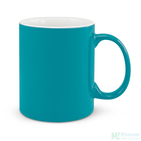 D Handle Coffee Mug Light Blue / 48 Ceramic Coffee