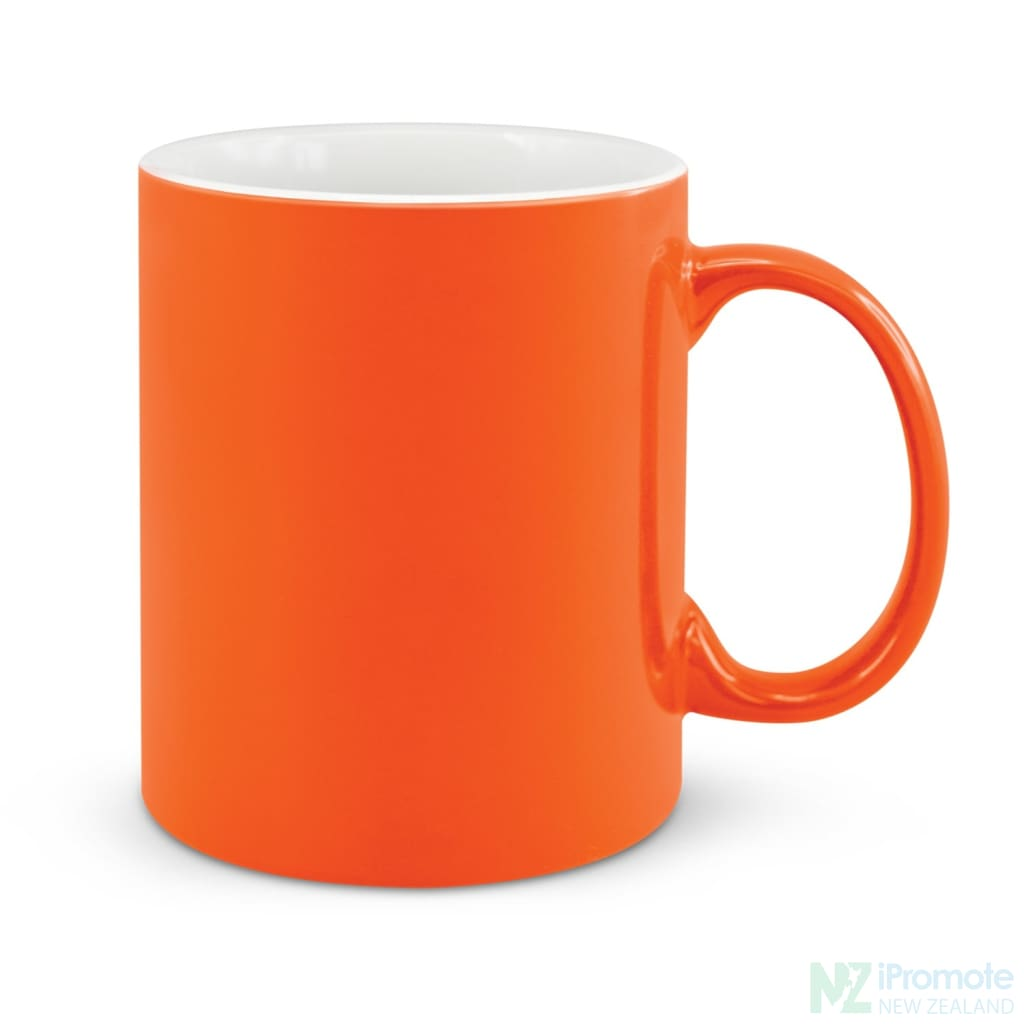 D Handle Coffee Mug Orange / 48 Ceramic Coffee