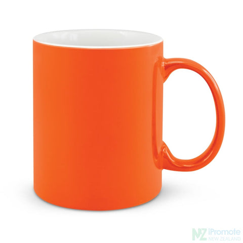 Image of D Handle Coffee Mug Orange / 48 Ceramic Coffee