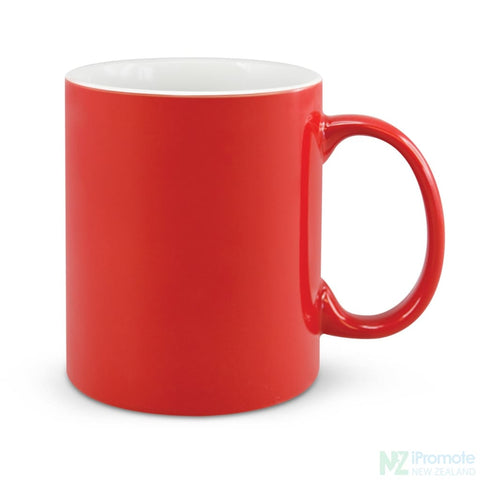 Image of D Handle Coffee Mug Red / 48 Ceramic Coffee