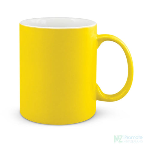 Image of D Handle Coffee Mug Yellow / 48 Ceramic Coffee