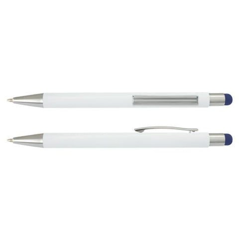 Lancer Stylus Pen - White Barrel