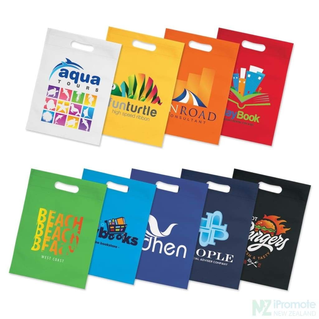 Die Cut Small Non Woven Bag Tote Bags