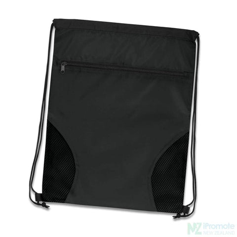 Dodger Drawstring Backpack Black Bag
