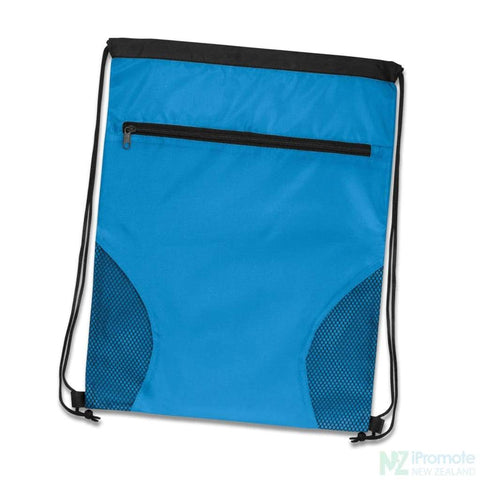 Image of Dodger Drawstring Backpack Light Blue Bag