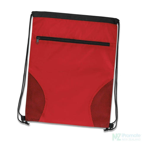 Image of Dodger Drawstring Backpack Red Bag