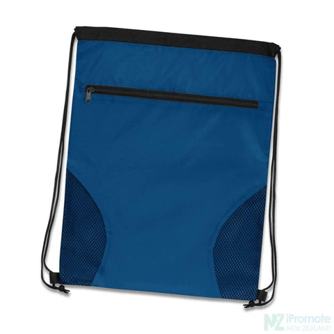 Dodger Drawstring Backpack Royal Blue Bag