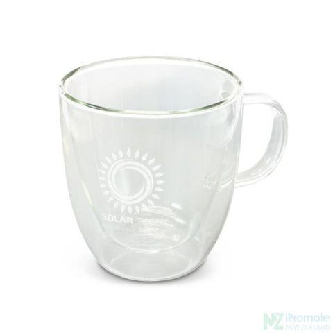 Image of Double Wall 3D Glass Cup
