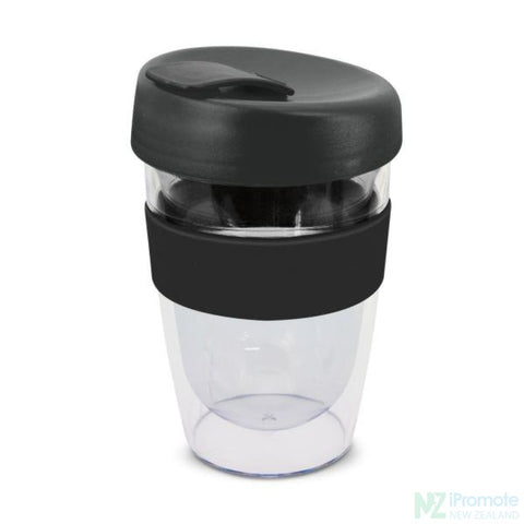 Image of Double Walled 330Ml Express Cup Black Reusable Mugs
