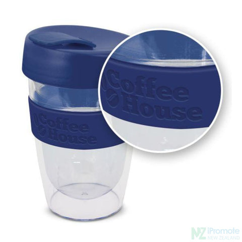 Image of Double Walled 330Ml Express Cup Dark Blue Reusable Mugs