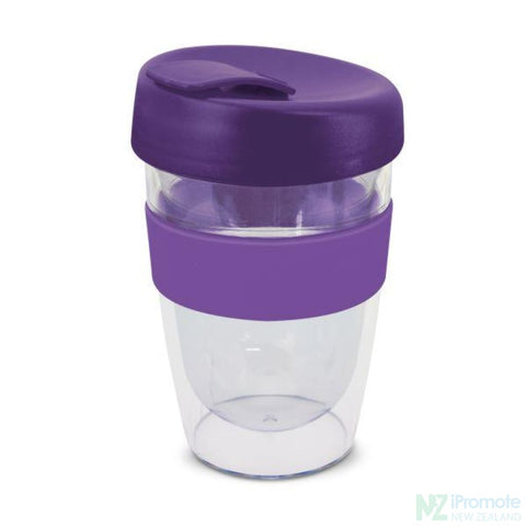 Image of Double Walled 330Ml Express Cup Purple Reusable Mugs