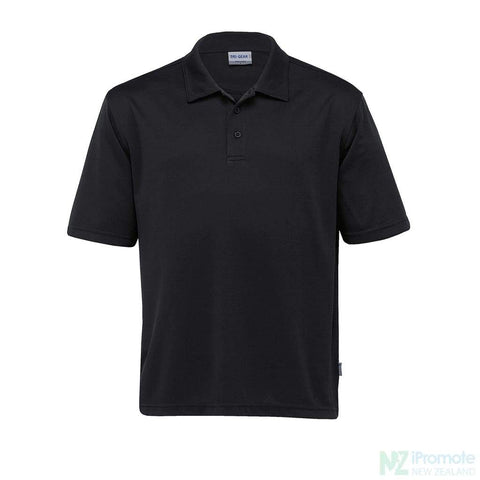 Dri Gear Axis Polo Black Shirts
