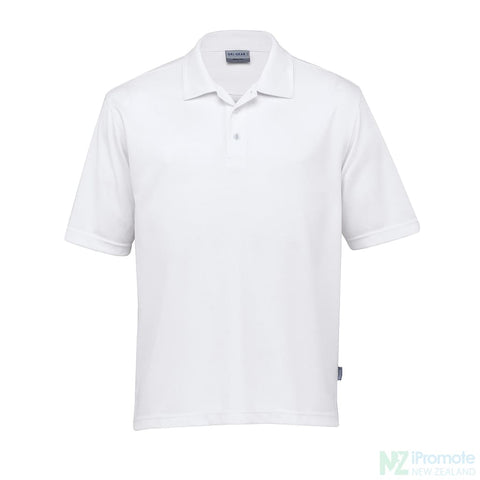 Dri Gear Axis Polo White Shirts