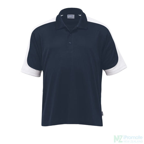 Image of Dri Gear Challenger Polo Navy/white/navy Shirts